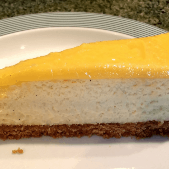Lemon Curd Cheesecake Recipe