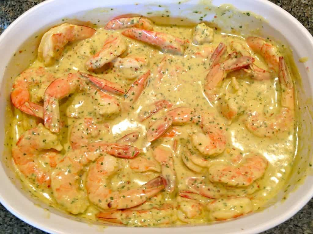 Shrimp Dijon Vinaigrette Appetizer
