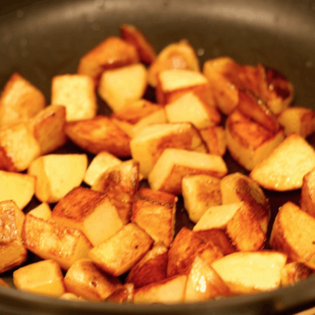 Pan Roasted Potatoes On The Stovetop