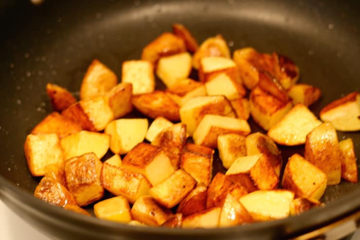 yukon gold pan roasted potatoes