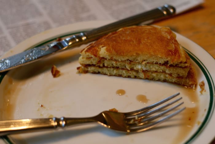 fluffy Einkorn flour pancakes