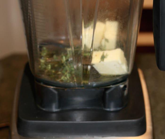 preparing mashed cauliflower