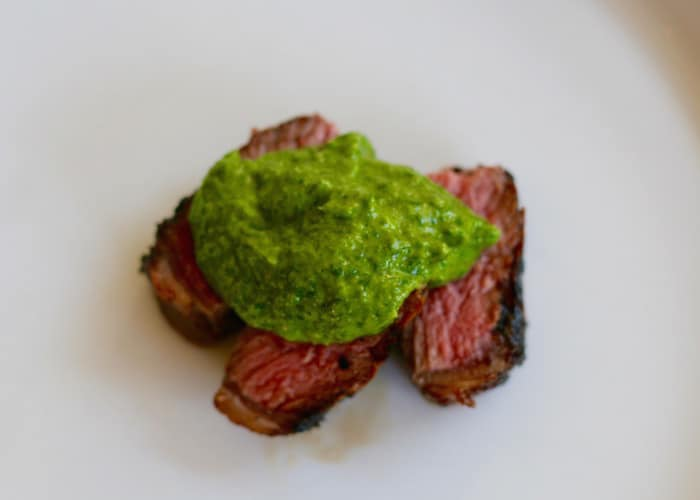 Salsa Verde With Steak Picture