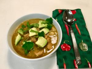 Pozole Verde Soup Recipe