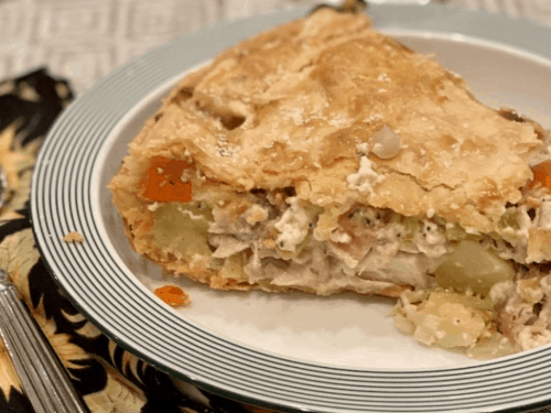 chicken pot pie banner picture