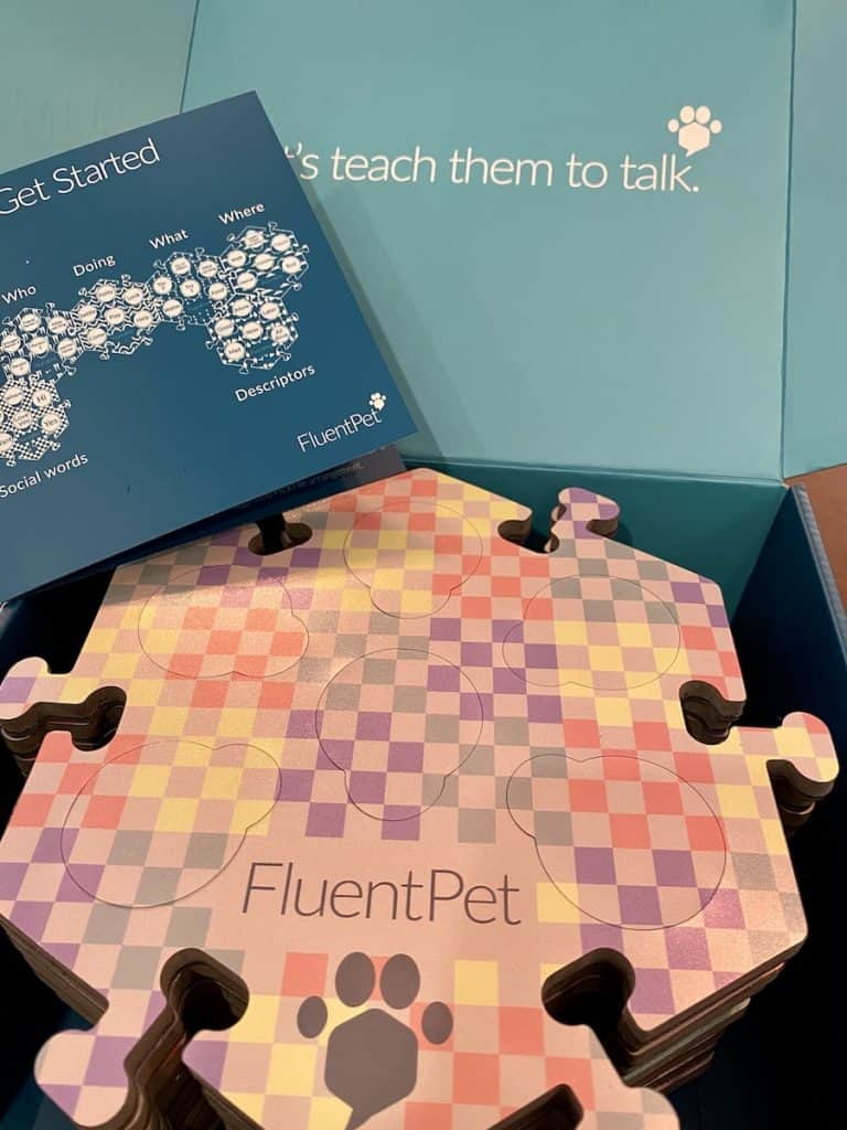 FluentPet recordable buttons starter set