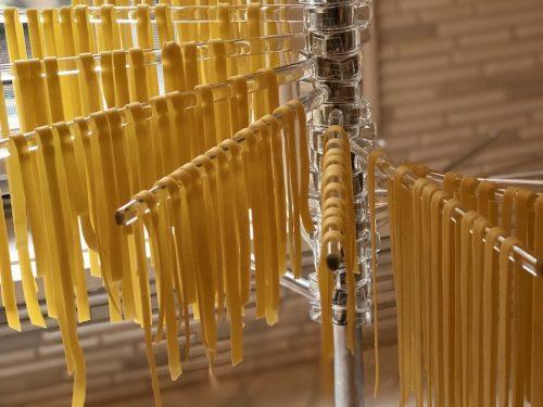 fresh Einkorn flour pasta